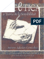 Iglesias, Severo - Estetica, Teoria de La Sensibilidad