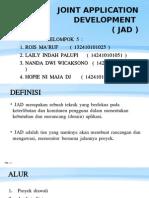 SDLC Joint Application Development(JAD)