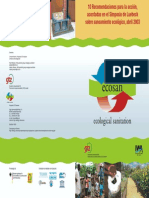 Ecosan Saneamiento Ecológico 03-1670