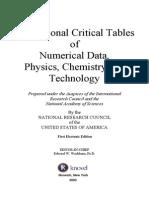 International Tables of  Data
