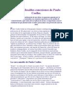 Las Inconfesables Conexiones de Paulo Coelho
