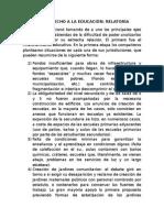 Relatoría Comisión Derecho a La Educación