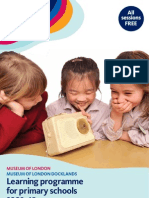 Museum of London Primary Learning Programme 0910