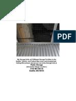 Public Storage Ceiling Wire