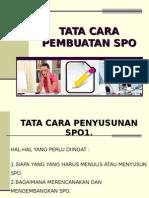Hl Tata Cara Pembuatan Spo Dan Program