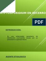 Cryptosporidium y Coccidiosis
