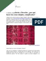 Chino Mandarín y Derecho (1)