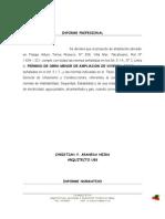 informe normativo