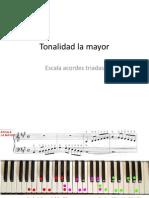 Tonalidad La Mayor