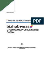 TROUBLESHOOTING GUIDE C7000/C7000P/C6000/C70hc/ C6000L