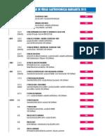 Calendario Ferias Gastronomicas 2015 _20.03.15