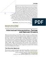 Intertextual Interpretation Mageo
