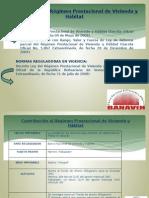Contribución Al Régimen Prestacional de Vivienda y Hábitat