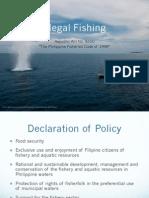 Illegal Fishing RA 8550
