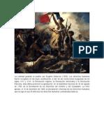 La Libertad guiando al pueblo, por Eugène Delacroix (1830)..docx