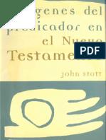 John Stott Imagenes Del Predicador en El Nt