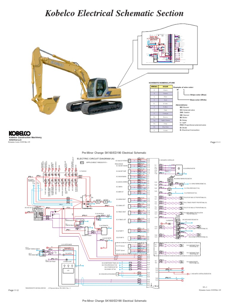 Kobelco Wiring Diagrams Touch Peterbilt Diagram For Sk Schematic Lull