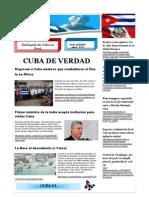 Boletín Cuba de Verdad Nº 53-2015