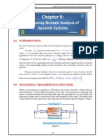 Frequency-Domain Analysis of Dynamic Systems