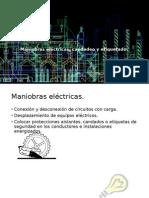 Maniobras Eléctricas, Candadeo y Etiquetado