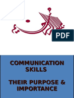 Communication Skills Their Purpose & Importance