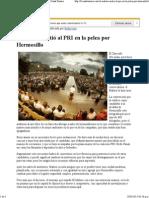 17-03-15 El Maloro metió al PRI en la pelea por Hermosillo