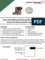 Muscle Sensor v3 Users Manual