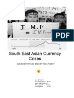 East Asian Crises_Assignment