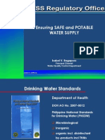 Ensuring Safe Water Oct2014