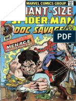 Giant Size Spider Man and Doc Savage 3 Vol 1