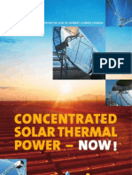 Concentrated Solar Thermal Power Plants 2005