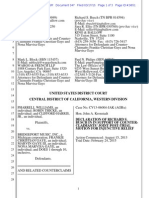 Blurred Lines Trial - Busch declaration in support of injunction - Williams + Thicke v. Gaye.pdf