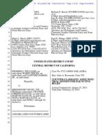 Blurred Lines Trial - Gaye injunction motion - Williams + Thicke v. Gaye.pdf