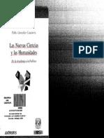 González Casanova, Pablo - Las Nuevas Ciencias y Las Humanidades