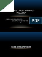 Radiología Cardiaca Normal y Patlógica