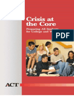 Crisis at the Core