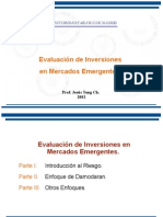 Evaluación de Inversiones en Mercados Emergentes