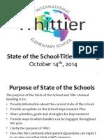 whittier sots 2014-15
