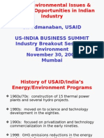 Some Environmental Issues & Business Opportunities In