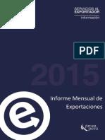 Informe Mensual Exportaciones 2015