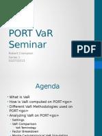 Port Var Seminar Cv