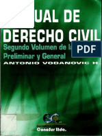 Vodanovic Haklicka, Antonio – Manual de Derecho Civil – Parte Preliminar y General Vol II.pdf