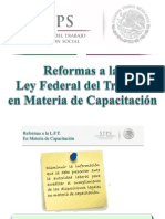 Reformas a la Ley Federal del Trabajo Capacitación