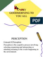 Presentation Perception