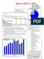 2013 Investor Fact Sheet