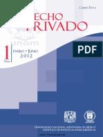 Revista de Derecho Privado (Cuarta Época)