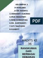 Presen Hadits 36