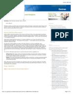 Magic Quadrant for Advanced Analytics Platforms Feb 2015
