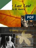 the last leaf short story summary