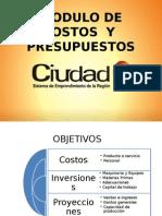 Diapositiva de Costos y Presupuestos Diapositiva de Costos y Presupuestos